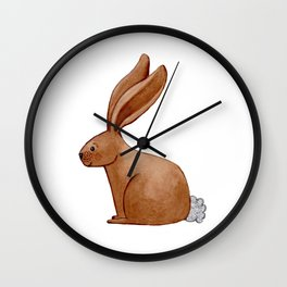 Little Bunny Rabbit Wall Clock