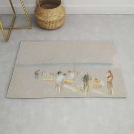 """J.M.W. Turner """"Cricket on the Goodwin Sands"""" Rug"""