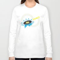 record Long Sleeve T-shirts featuring Dance - Record by Ornaart