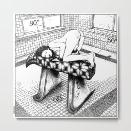 asc 466 - La loi de la Transcendance (The rule of Master Pi) Metal Print