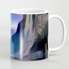 Minimalist Seven Sisters Waterfall Coffee Mug