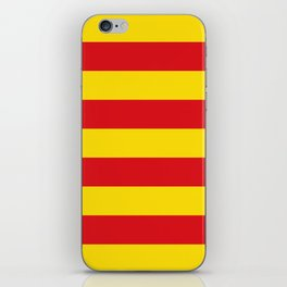 Catalan Flag - Senyera - Authentic High Quality iPhone Skin