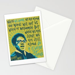 Audre Lorde. Stationery Cards