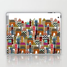 geo town Laptop & iPad Skin