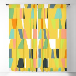 Modern Geometric 39 Blackout Curtain