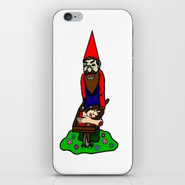 Zombie Gnome iPhone Skin