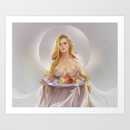 Venera Art Print