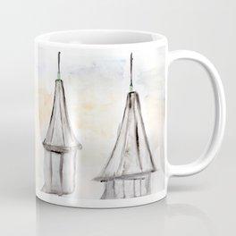 Twin Spires Churchill Downs Watercolor Art Louisville, Kentucky Coffee Mug