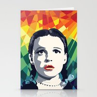 dorothy Stationery Cards featuring Dorothy by Stephanie Keir