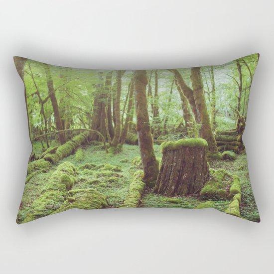 Mossy Forest Rectangular Pillow