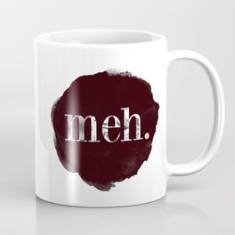Meh floral watercolor Coffee Mug