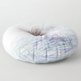 Feeling the Energy of the Sea Floor Pillow