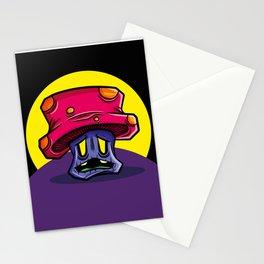 Zombie Mushroom Stationery Cards