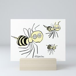 The Bees Mini Art Print