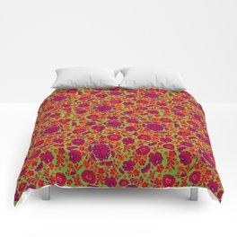 ITTHON - Green Flora Comforters