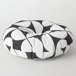 Mid-Century Modern Pattern No.2 - Concrete Floor Pillow