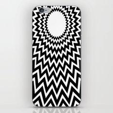 it makes me dizzy iPhone Skin