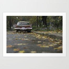 Classic Ride Art Print