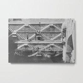 STEPWELL Metal Print