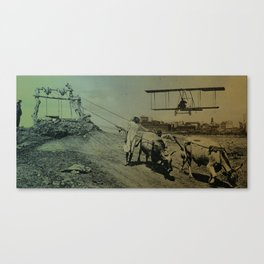 Mix the era  Canvas Print