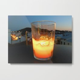 Summer night Metal Print