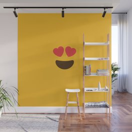 Love Face Wall Mural