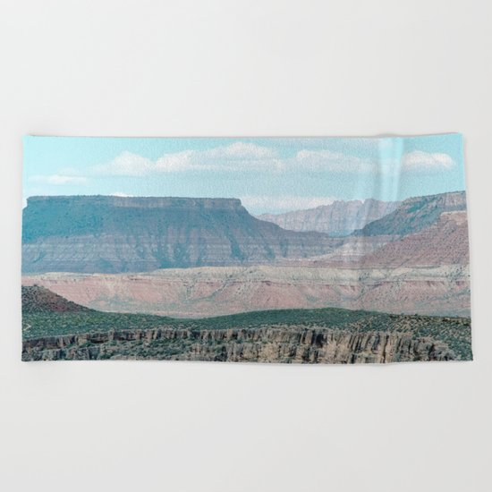 Within the Temple of Mountains (Utah) Beach Towel