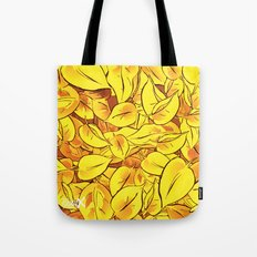 Yellow Leaves - Ver 1 (you can create set with Yellow Leaves Ver 2) Tote Bag