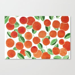 Tiny oranges Canvas Print