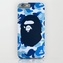 Hypebeast ape Camo Pattern iPhone Case