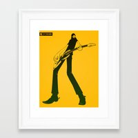 hero Framed Art Prints featuring Hero by GZUS