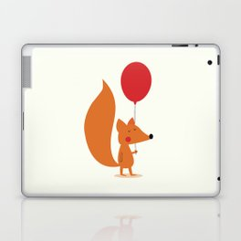 Fox With A Red Balloon Laptop & iPad Skin