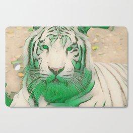Green Tiger Cutting Board