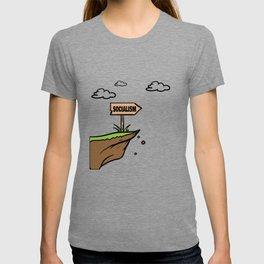 Socialism off a Cliff T-shirt