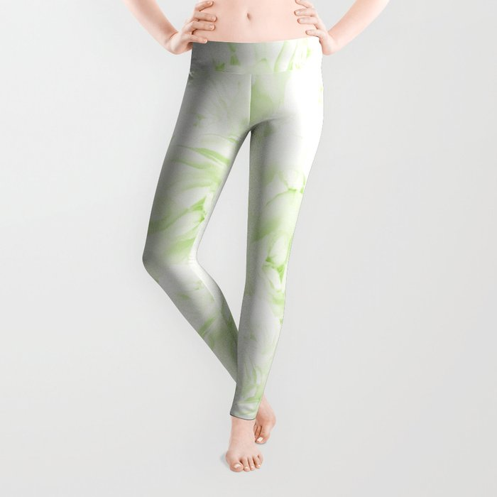 Rose Silhouette Leggings