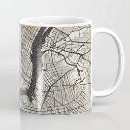 New York - Ink lines Coffee Mug