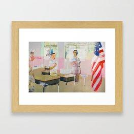 Pledge Class Framed Art Print