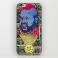 foo fighters iPhone & iPod Skins featuring Pity Da Foo by Beery Method