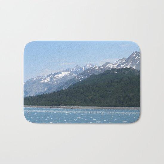Alaskan Mountainview Bath Mat