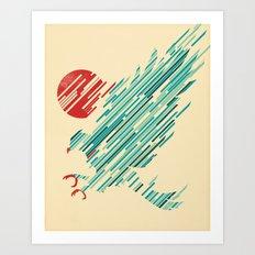 Descent Art Print