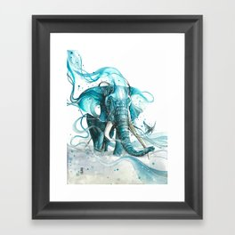 Journey to the East Framed Art Print
