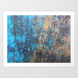 Rusty Art Art Print