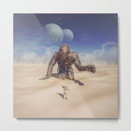 Wandering in the Desert Metal Print