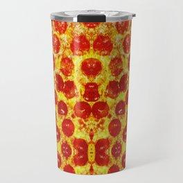 Pizza Art Travel Mug