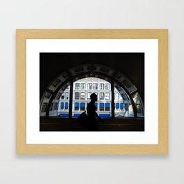 Newyorking life Framed Art Print