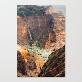 Waimea Canyon Rust Canvas Print