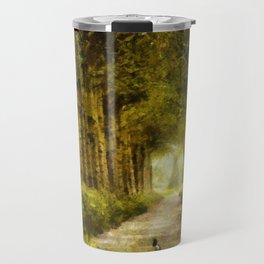 Country Side Road Travel Mug