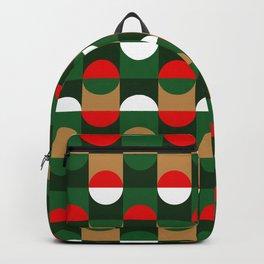 Christmas Geo // small print Backpack