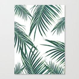 Green Palm Leaves Dream #2 #tropical #decor #art #society6 Leinwanddruck