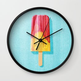 POPSICLE / Cherry, Orange Wall Clock